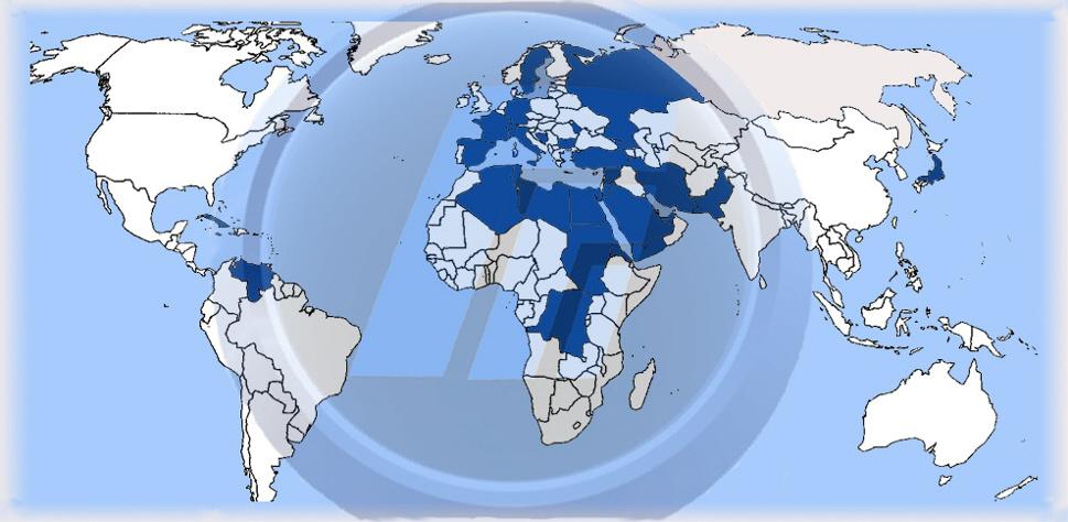 Aree Geografiche di competenza